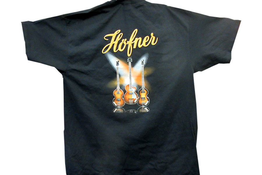 Hofner Screen Print