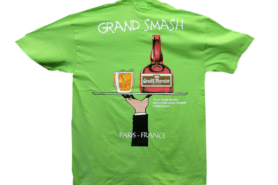 Grand Smash Screen Print
