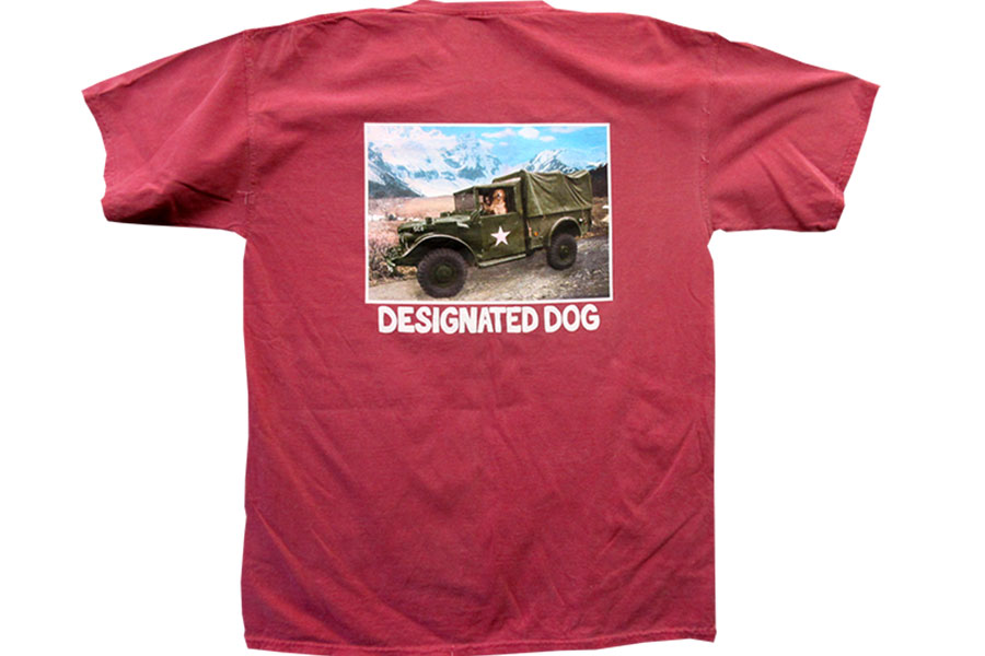 Designated Dog Screen Print