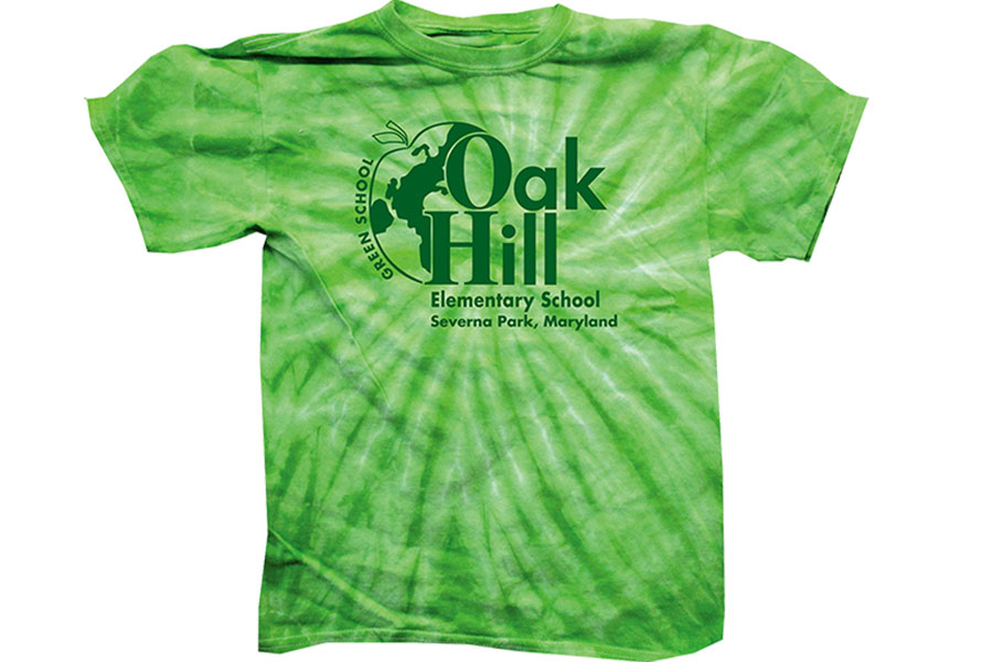 Oak Hill Screen Print